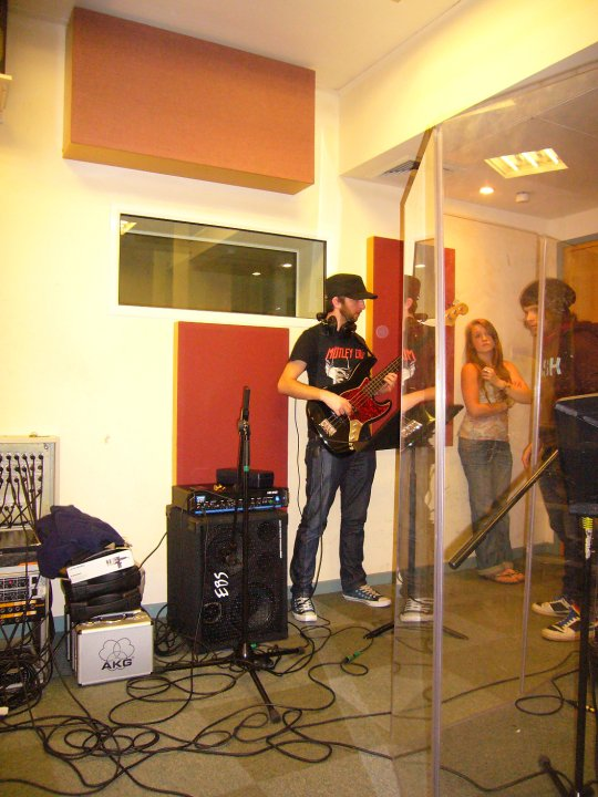 Tom Sinnett - Birmingham Studio Recording