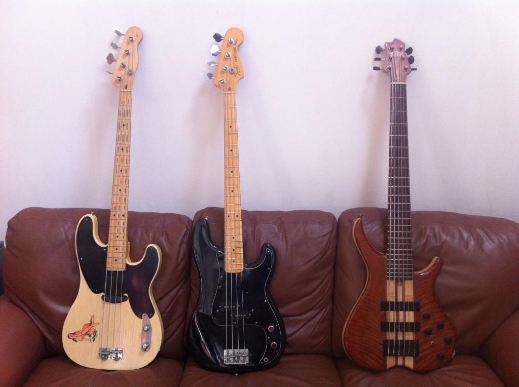 Tom Sinnett Blog - Bass Collection at StudiOwz