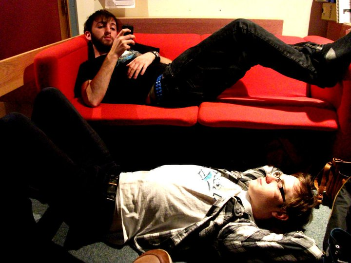 Tom Sinnett & Euan Palmer - Chilling Out During Recording